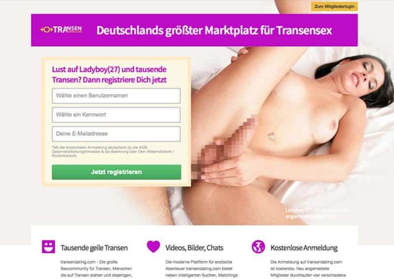 transendating sexkontakte